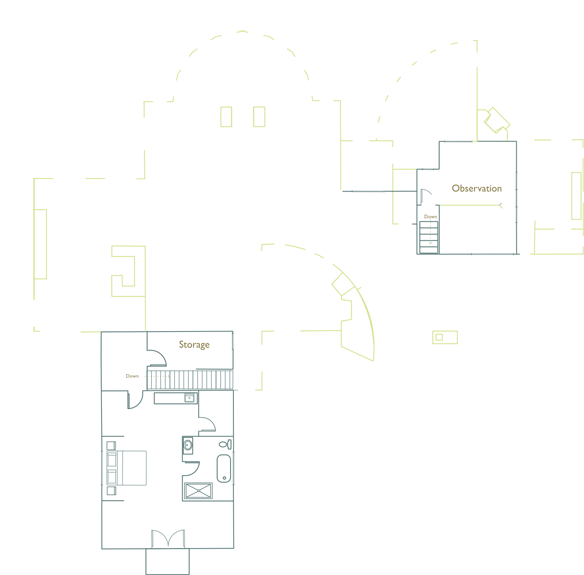 Third level floor plan